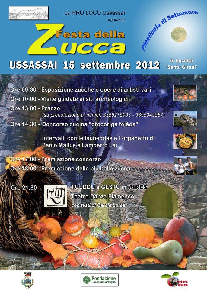 Festa della Zucca - Ussassai (Ogliastra)