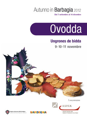 Autunno in Barbagia 2012 ad Ovodda dal 9 all'11 Novembre