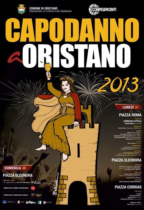 Capodanno 2013 ad Oristano