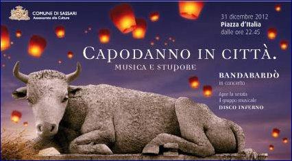 Capodanno 2013 a Sassari