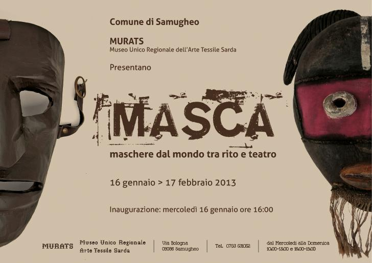 MASCA - Maschere dal mondo - A Samugheo