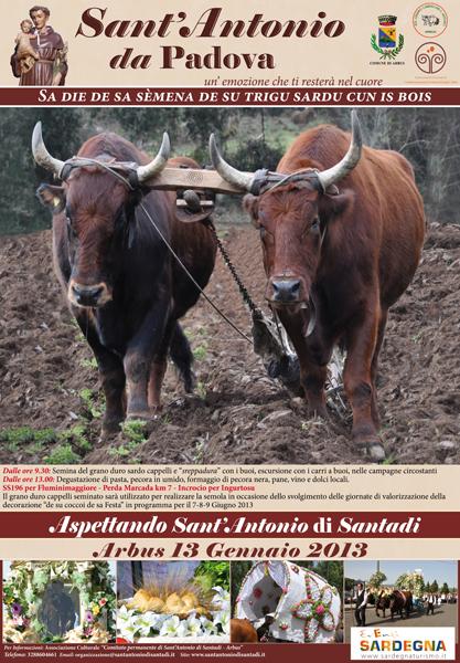 Rassegna di Aspettando Sant'Antonio di Santadi – 2013