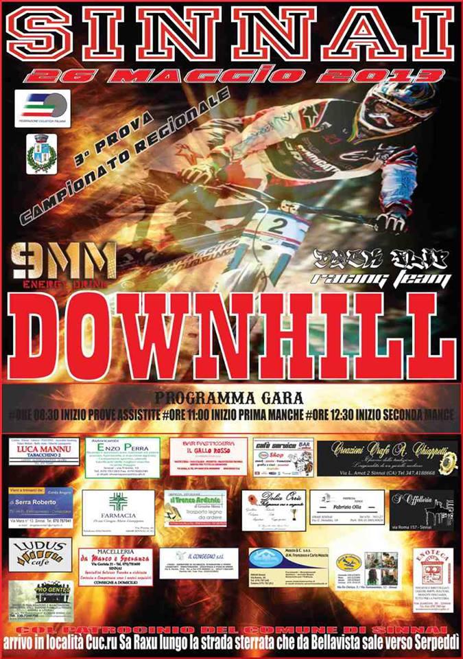 Downhill a Sinnai il 26 Maggio 2013
