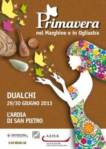 Primavera nel Marghine a Dualchi - 29 e 30 Giugno 2013