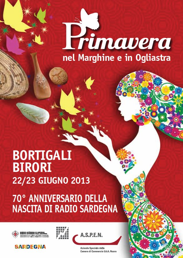 Primavera nel Marghine e in Ogliastra 2013 – A Bortigali e Birori il 22/23 Giugno