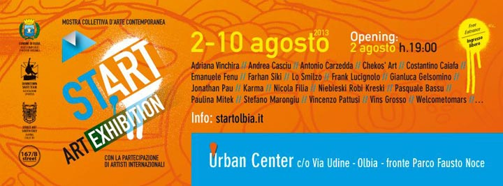 Start Exhibition a Olbia