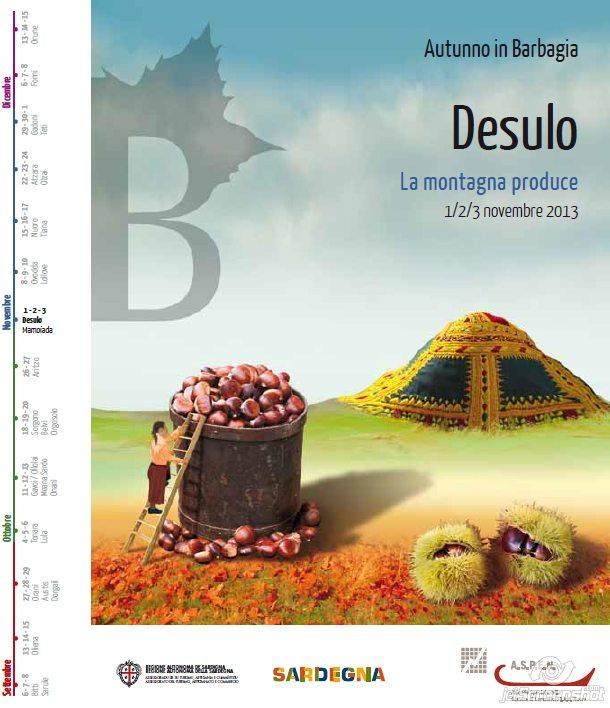 Autunno in Barbagia 2013 a Desulo