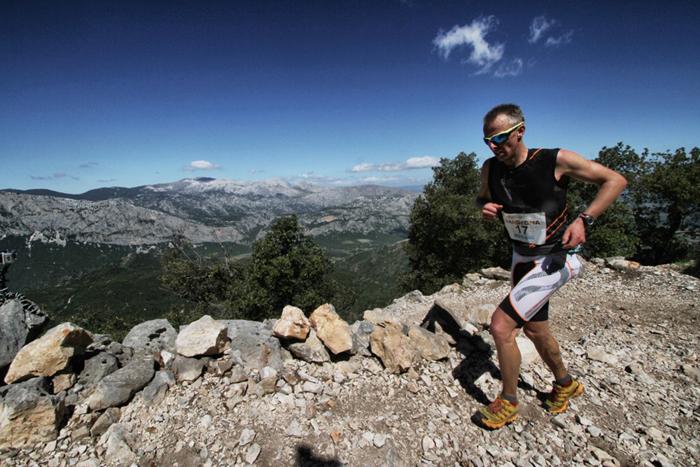 Fulvio Dapit, vincitore dell'edizione 2013 del Sardinia Trail