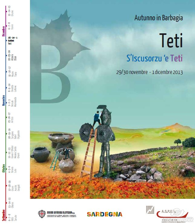 Autunno in Barbagia 2013 Teti