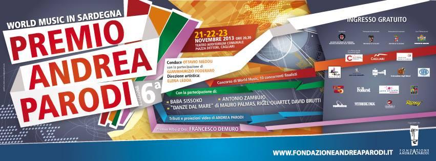 Premio Andrea Parodi - Dal 21 al 23 Novembre 2013