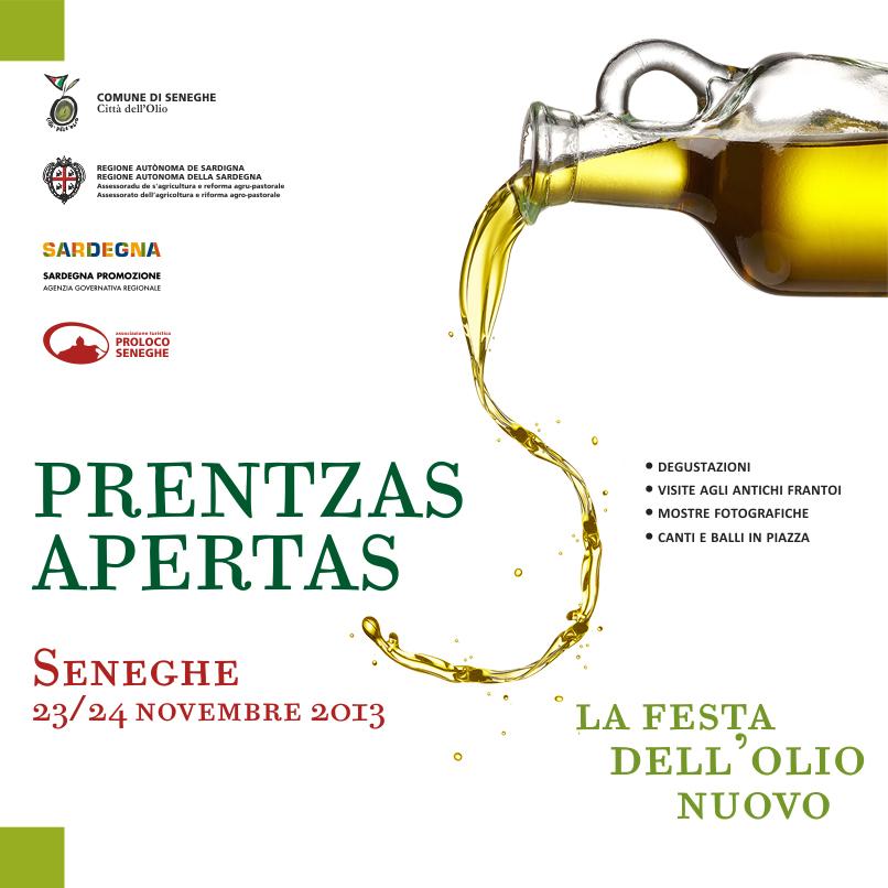 Prentzas Apertas 2013 - A Seneghe il 23 e 24 Novembre