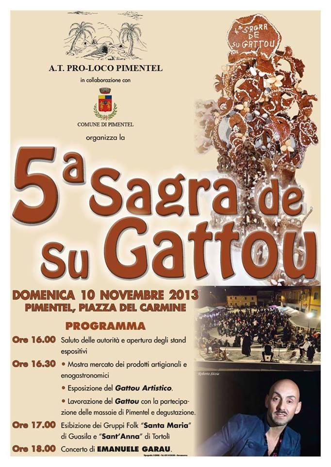 Quinta sagra de su Gattou a Pimintel - Domenica 10 Novembre 2013