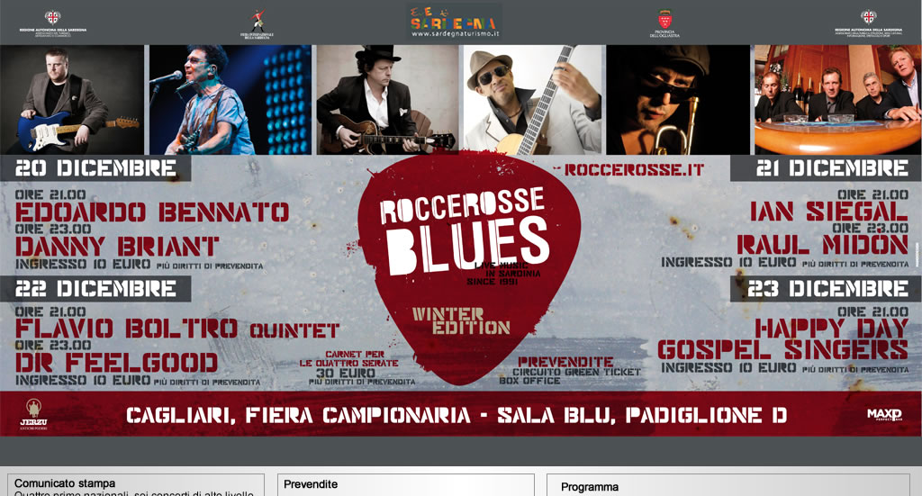 Rocce Rosse Blues - Winter Edition 2013
