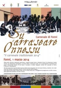 """Su Arraseare Onnessu - """"Il carnevale tradizionale 2014"""" a Fonni"""