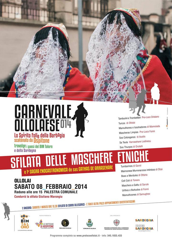 Carnevale Ollolai 2014