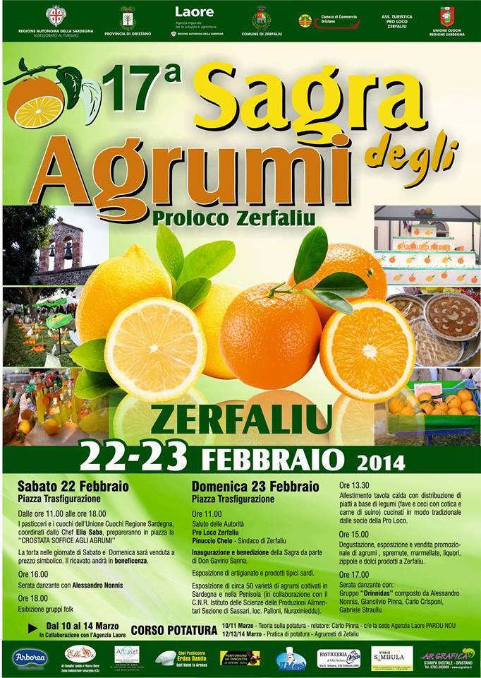 17ª Sagra degli agrumi di Zerfaliu