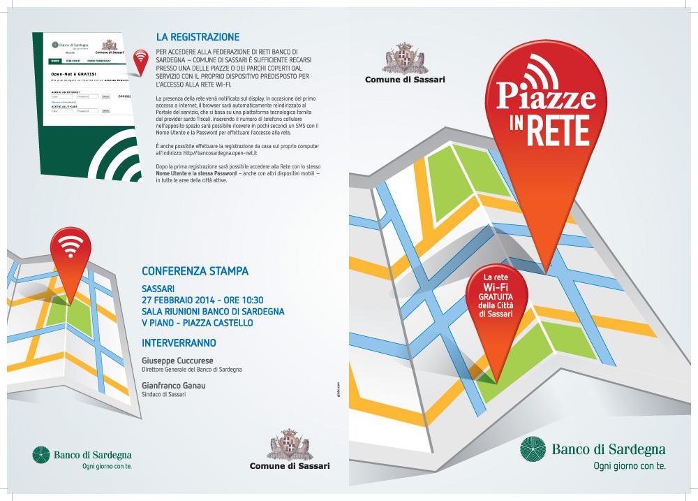 Piazze in rete: a Sassari internet è gratis con il Wi-Fi