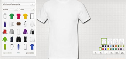 Crea le tue T Shirt personalizzate sulla Sardegna