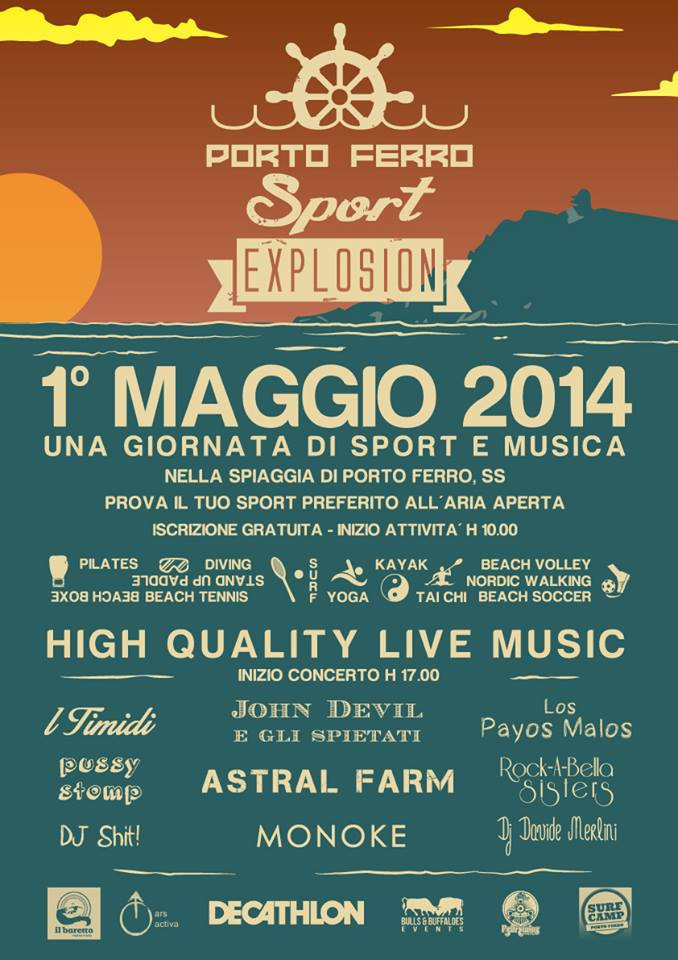 Porto Ferro Sport Explosion - 1 Maggio 2014