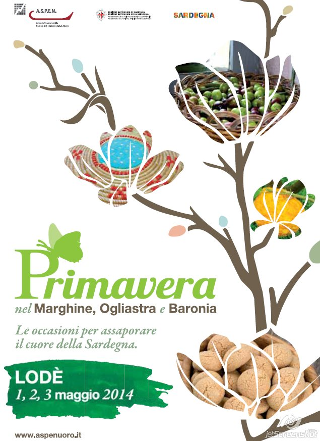 Primavera nel Marghine, Ogliastra e Baronia a Lodè