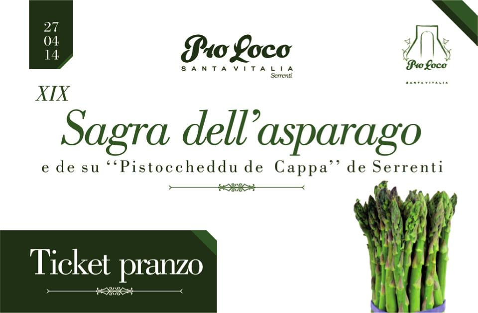 Sagra dell'Asparago 2014 a Serrenti