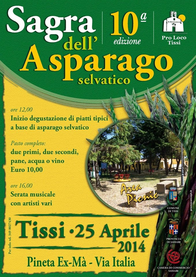 10^a Sagra dell'Asparago a Tissi