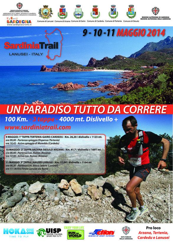 Sardinia Trail 2014 - Dal 9 all'11 Maggio