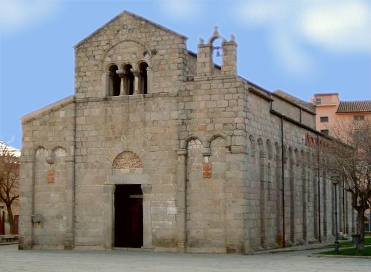 La Basilica di San Simplicio a Olbia (foto Wikipedia)