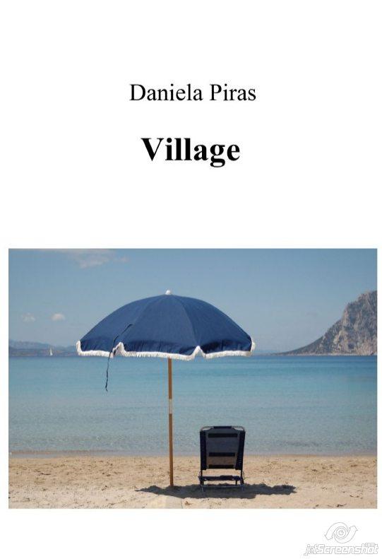 """Presentazione libro """"Village"""" di Daniela Piras"""