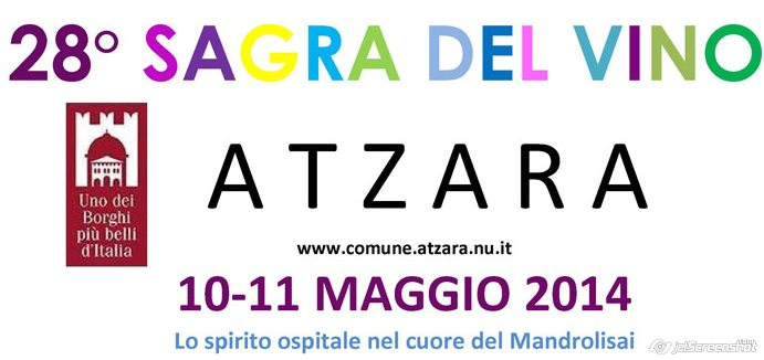 Sagra del Vino 2014 - Ad Atzara 10 ed 11 Maggio
