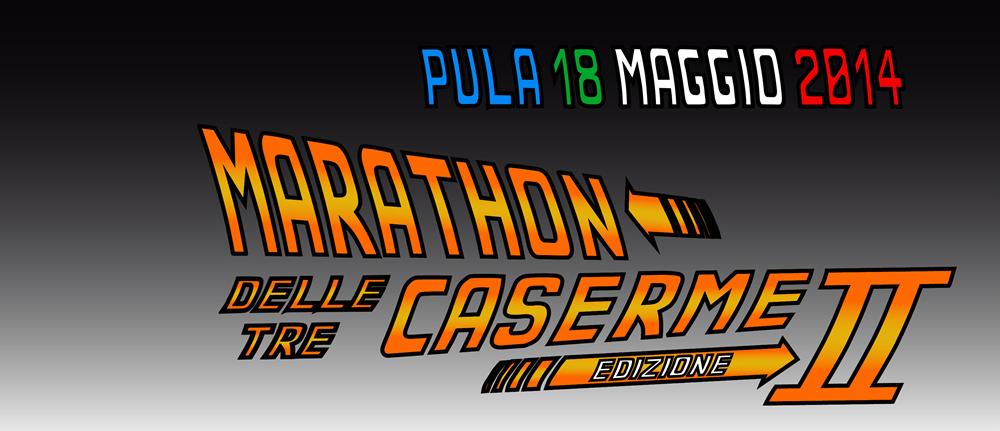 Marathon delle Tre Caserme 2014 a Pula