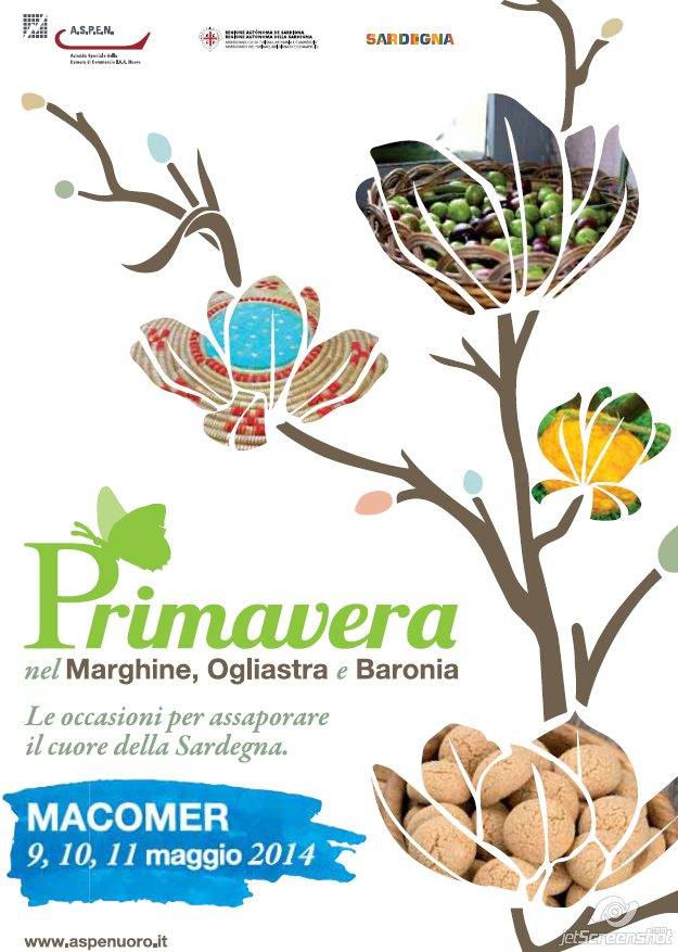 Primavera nel Marghine, Ogliastra e Baronia – A Macomer il 9, 10 e 11 Maggio al 2014