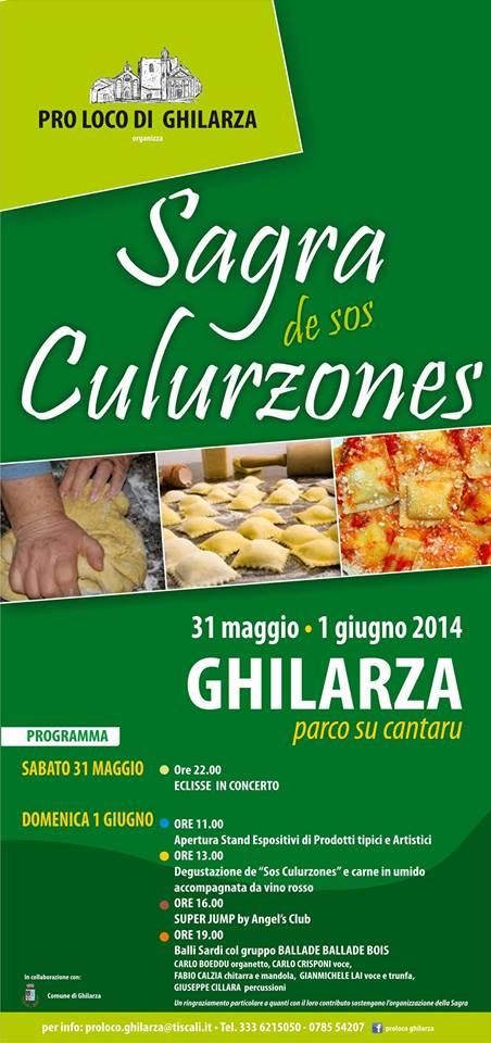 Sagra de Sos Culurzones a Ghilarza - 31 Maggio e 1 Giugno 2014