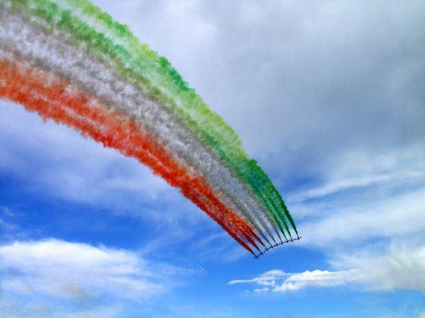 Freccie Tricolori a Cagliari - Sabato 7 Giugno 2014 al Poetto