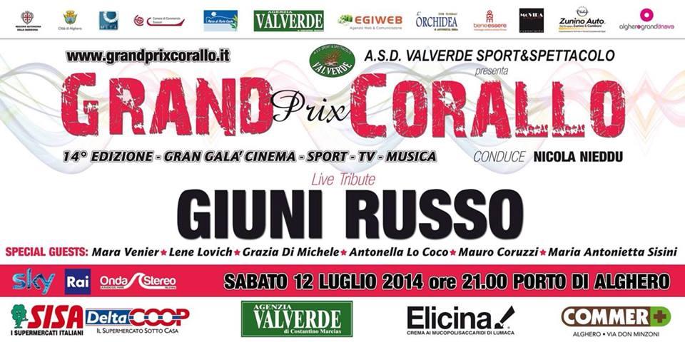 Grand Prix Corallo Città di Alghero - Sabato 12 Luglio 2014