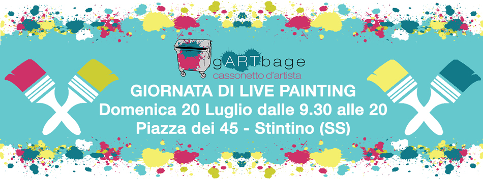 Live Painting a Stintino - Domenica 20 Luglio 2014