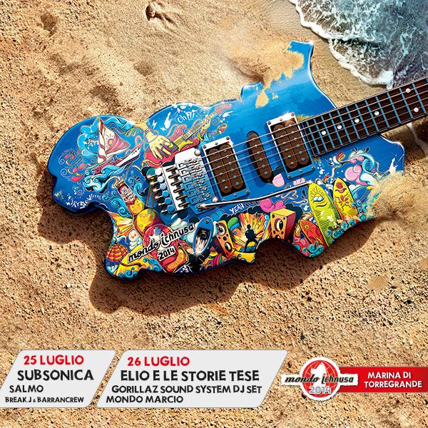 Mondo Ichnusa 2014 - Venerdì 25 e Sabato 26 Luglio a Marina di Torregrande