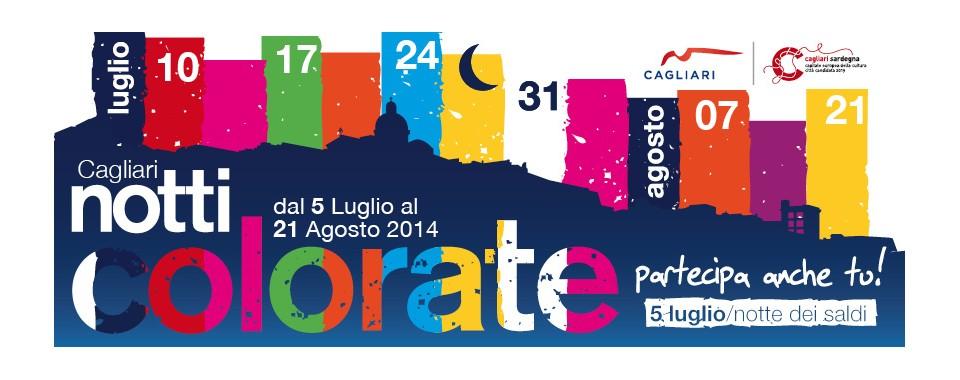 Notti Colorate 2014 a Cagliari - Ecco il Programma