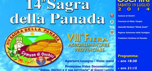 Sagra della Panada di Oschiri - Sabato 19 Luglio 2014