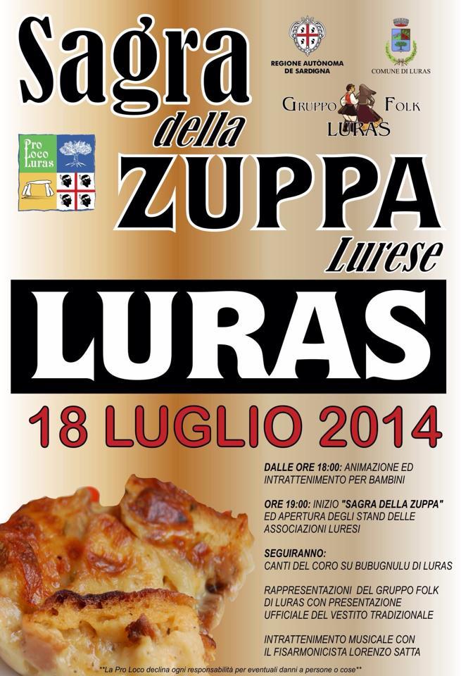 Sagra della zuppa lurese - Venerdì 18 Luglio a Luras