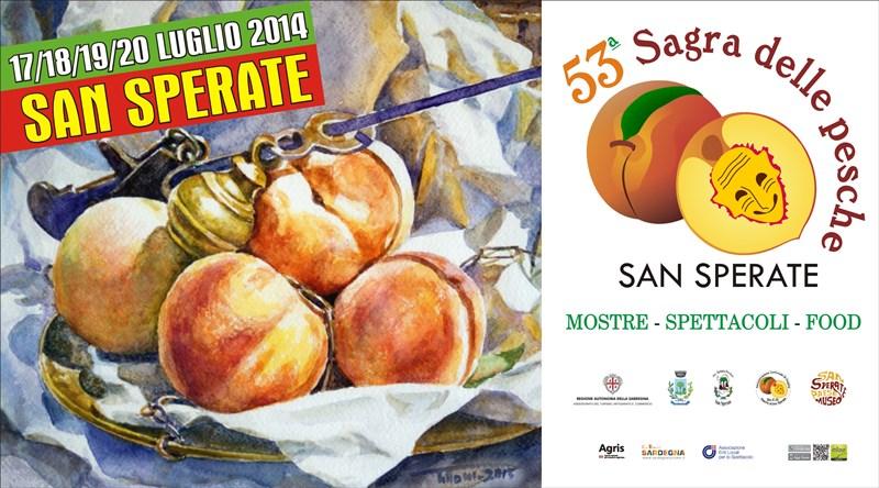 Sagra delle Pesche 2014 a San Sperate - Dal 17 al 20 Luglio 2014