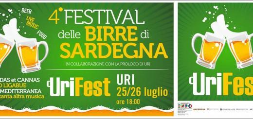UriFest 2014 - 4° Festival delle Birre di Sardegna ad Uri - 25 e 26 Luglio