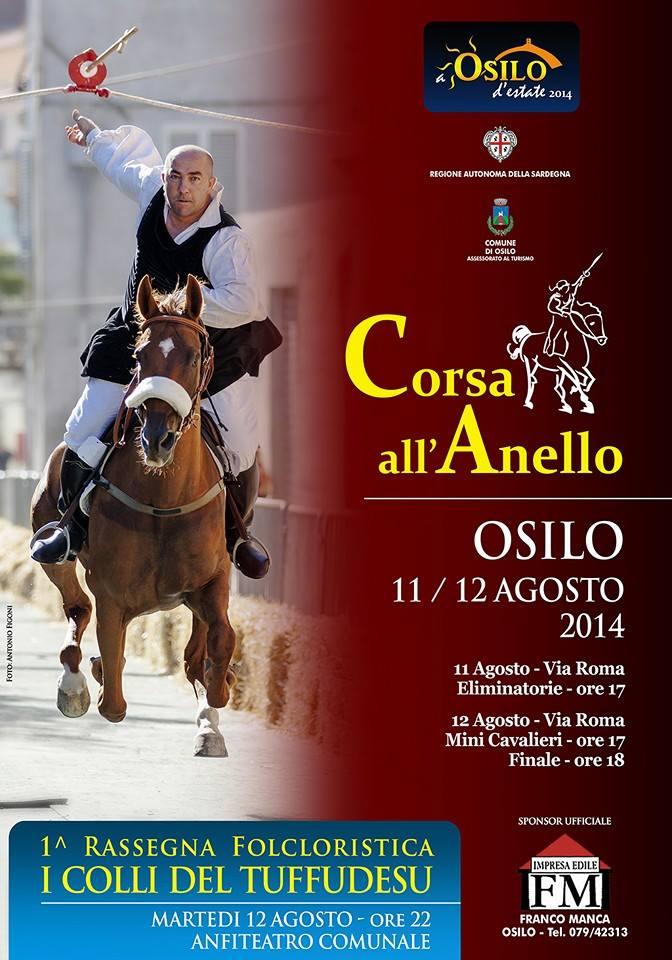 Corsa all'Anello di Osilo - 11 e 12 Agosto 2014
