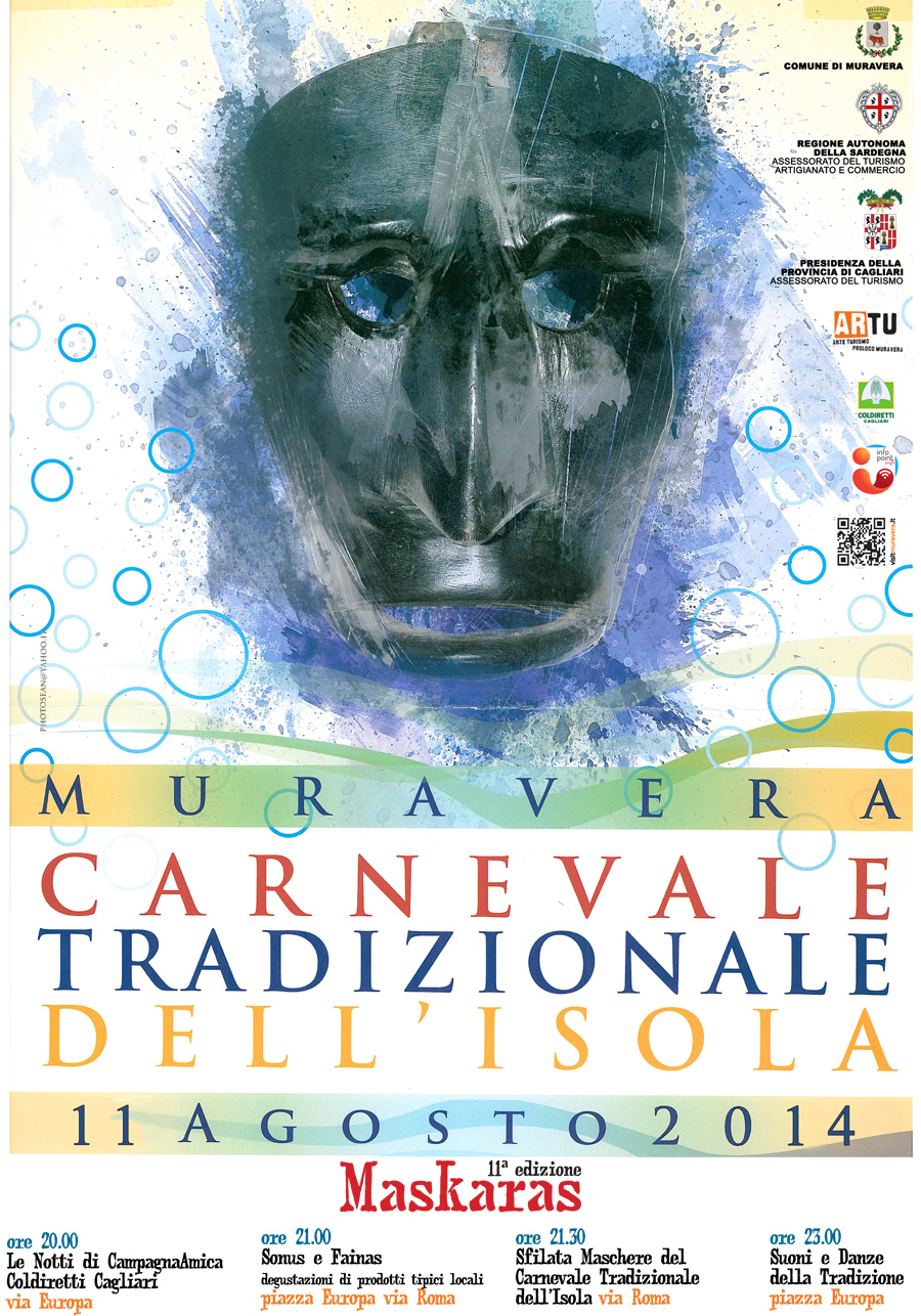 MasKaras: Carnevale Tradizionale della Sardegna a Muravera - Lunedì 11 Agosto 2014