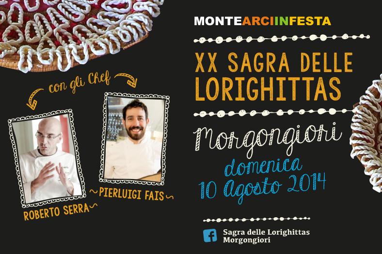 XX Sagra delle Lorighittas a Morgongiori - Domenica 10 Agosto 2014