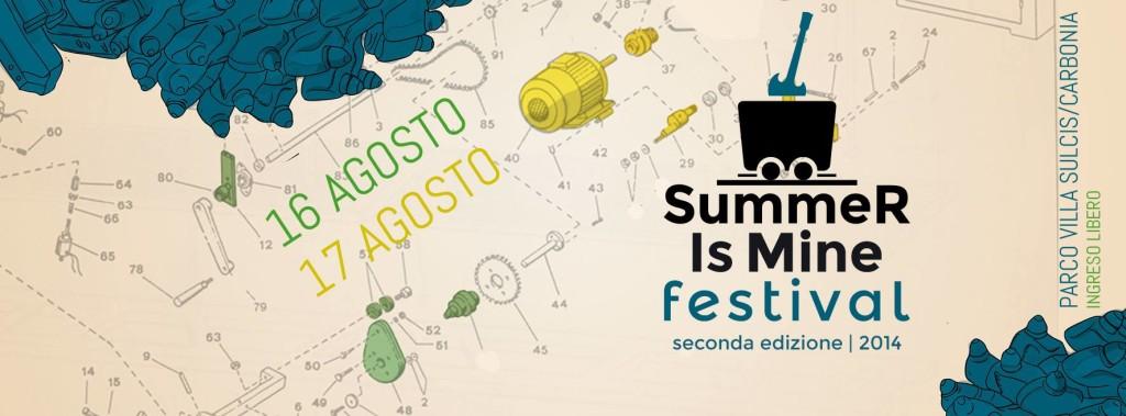 Summer is Mine Festival 2014 a Carbonia - 16 e 17 Agosto 2014