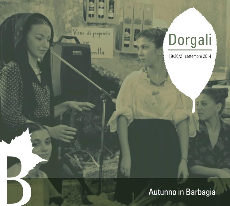 Autunno in Barbagia 2014 a Dorgali - Dal 19 al 21 Settembre