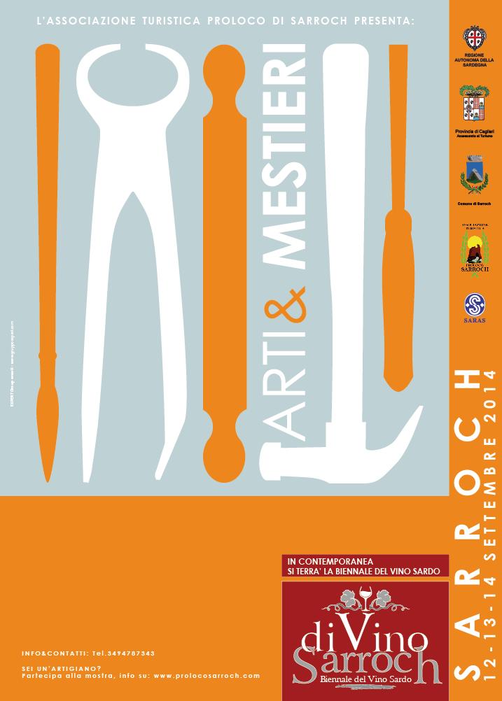Biennale Arti & Mestieri Sardi - A Sarroch il 13 e 14 Settembre 2014