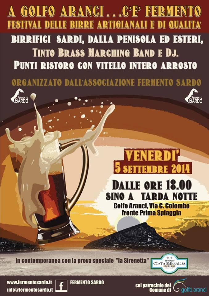 Festival delle Birre artigianali 2014 a Golfo Aranci - Venerdì 5 Settembre