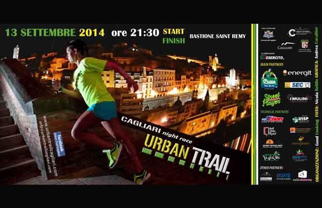 2^a edizione Urban Trail a Cagliari - Sabato 13 Settembre 2014